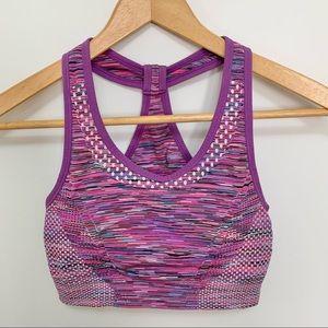 Purple & Pink Sports Bra